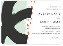 the modernists Wedding Invitations