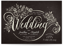 The Wedding Bouquet Wedding Invitations