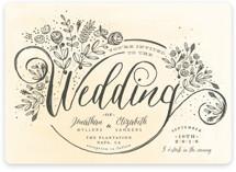The Wedding Bouquet Wedding Invitations