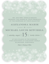 Twinkling Lights Wedding Invitations