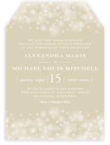 Twinkling Lights Wedding Invitations