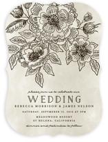 Wedding Etching Wedding Invitations
