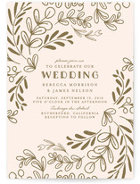 Wedding Vines Wedding Invitations