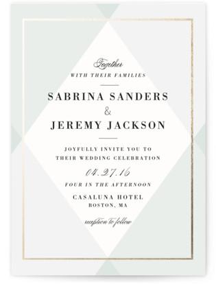 Creme Brulee Wedding Invitations
