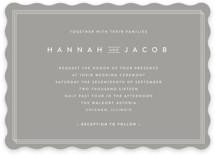 Elegantly Framed Wedding Invitations
