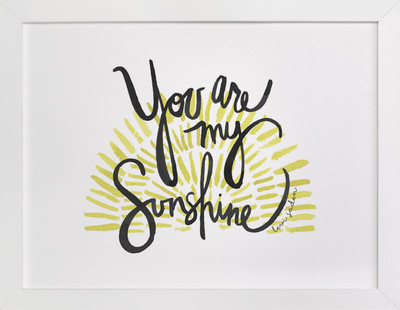 My Sunshine Children's Custom Art Print