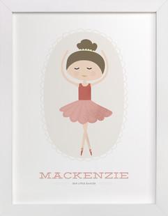 The Ballerina Children's Custom Art Print