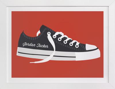 Cool Shoe Children's Custom Art Print
