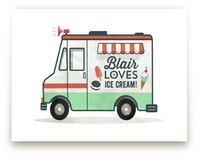 Ice Cream Truck by Susie Allen