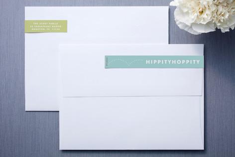 Hippity Skinnywrap™ Address Labels