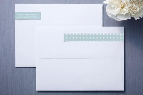 Scallops Skinnywrap™ Address Labels