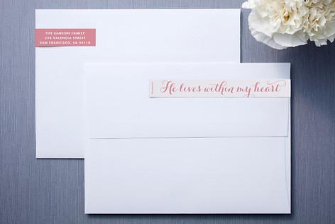 In My Heart Skinnywrap™ Address Labels