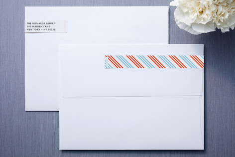 Air Mail Skinnywrap™ Address Labels