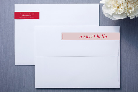 Short and Sweet Skinnywrap™ Address Labels
