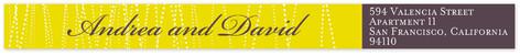 Goldshine Skinnywrap Address Labels