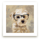 Four eyes, four legs II Art Prints