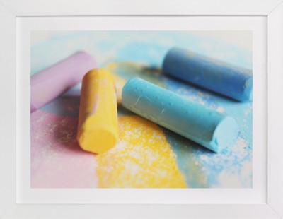 Chalk It Up Children's Art Print