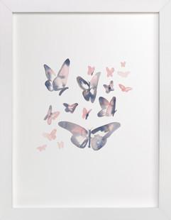 Papillons Children's Art Print