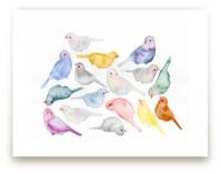 Bird Crew by Renee Anne