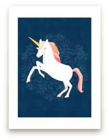 Unicorn & Blooms by Little Miss Missy