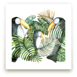 Toucan jungle family by Lulaloo