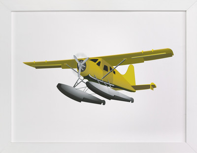 Seaplane Children's Art Print