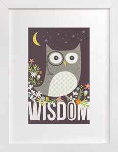 Wisdom Children's Art Print