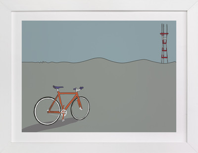 Longing for Sutro Children's Art Print