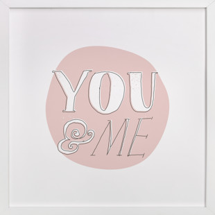 You and Me Children's Art Print