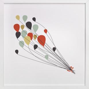 Up and Away Children's Art Print