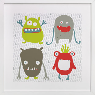 Monster Mash Children's Art Print
