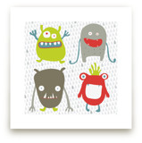 Monster Mash Art Prints