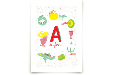 A is For Art Prints