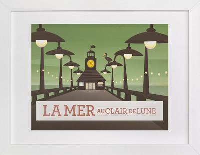 La Mer Children's Art Print