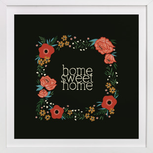 Home Sweet Home Children's Art Print