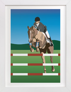 Horse Children's Art Print