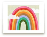 Rainbow & Clouds by melanie mikecz