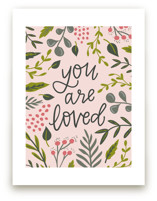 You Are Loved - Floral by Alexa Zurcher