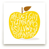 Apple ABCs by Baumbirdy