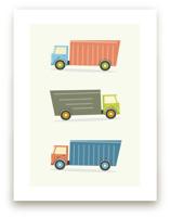 Moving Trucks by Anupama