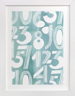 Linear Counts Children's Art Print