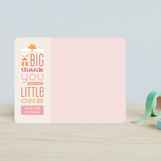Gifted Thanks Children's Stationery