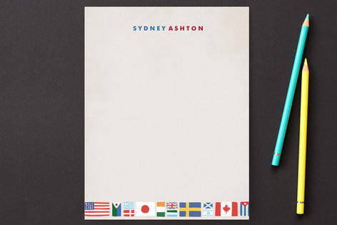 Globetrotter Children's Stationery