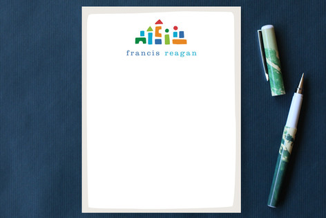 Little Builder Children's Stationery