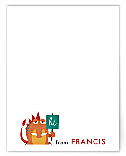 Monstrously Cute! Children's Personalized Stationery