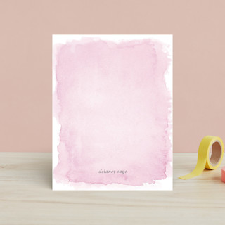 Watercolor Children's Stationery