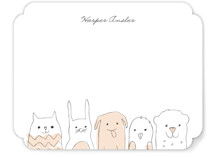 Peanut Gallery Children's Stationery