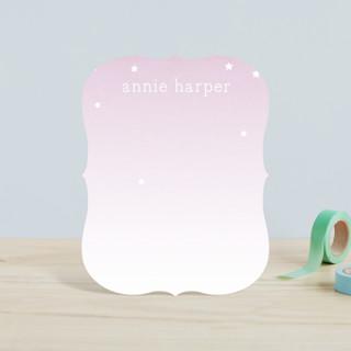 Stars for Annie Children's Stationery