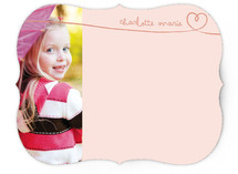 Sweetheart by Hand Children's Stationery