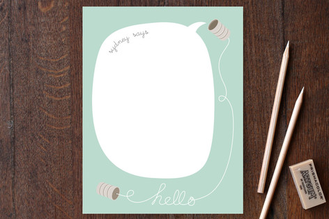 Hello... Can You Hear Me? Children's Stationery